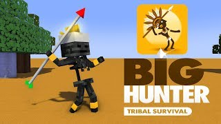 Monster School : BIG HUNTER CHALLENGE - Minecraft Animation