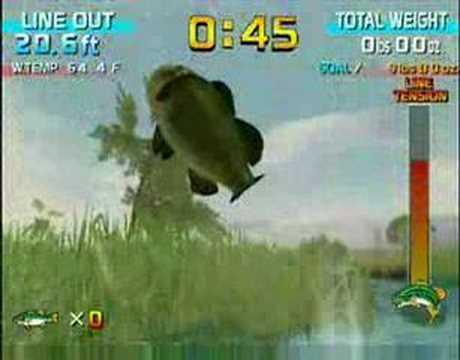 Sega Bass Fishing - Wii Trailer