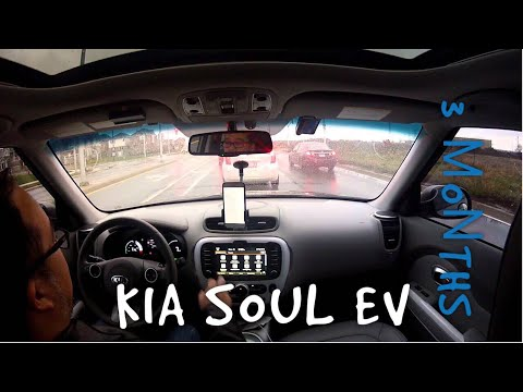 2016 Kia Soul EV - 3 Month Review.