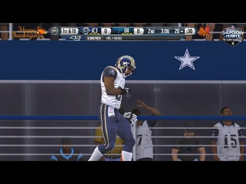 Madden NFL 15 UT- 8 Turnovers in Thanksgiving Day Game! | Ep 9