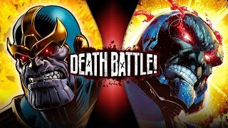 Thanos VS Darkseid (Marvel VS DC) | DEATH BATTLE! thumbnail