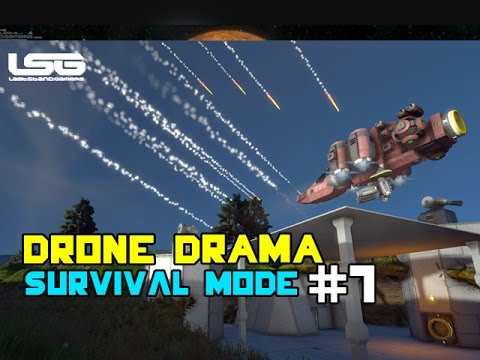 Space Engineers - Recon Drone Drama SE5 - EP7