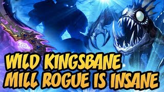 Hearthstone: Wild Kingsbane Mill Rogue Is Insane