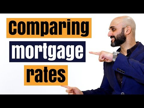 How to compare mortgage rates between the banks in Canada (and save yourself money)