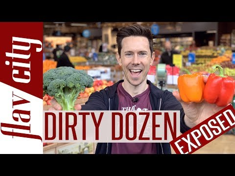 Organic vs Conventional Produce The Dirty Dozen & Clean 15 Explained