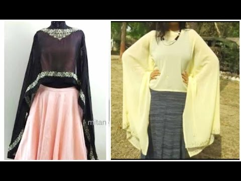 Long Cape From Old Dupatta | DIY