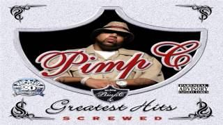 Pimp C - Knockin Doorz Down Ft. P.O.P. And Lil Keke Screwed N Chopped