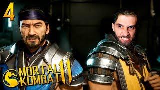 ПРОХОЖДЕНИЕ Mortal Kombat 11 НА РУССКОМ ЯЗЫКЕ -ГЛАВА 4- САБ-ЗИРО И СКОРПИОН