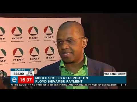 Mpofu scoffs at report on Floyd Shivambu payment