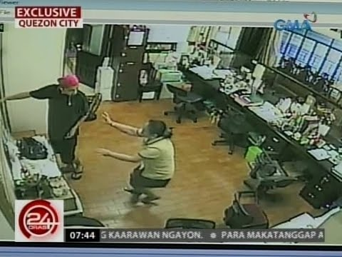 24Oras: Ilang krimen, nalulutas dahil sa tulong ng CCTV