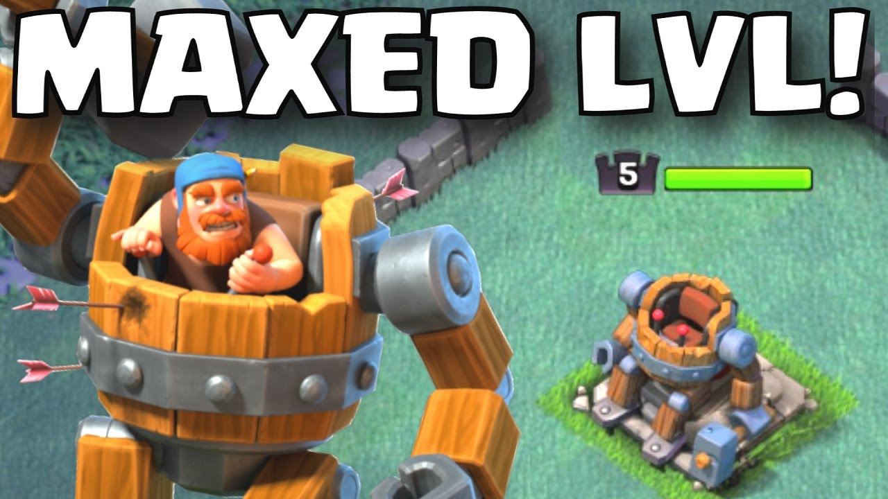 Clash Of Clans Maxed Builder Hall