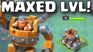 Clash of Clans MAXED LEVEL BATTLE MACHINE GAMEPLAY | BUILDER HALL LEVEL 5 NEW HERO UPDATE GAMEPLAY