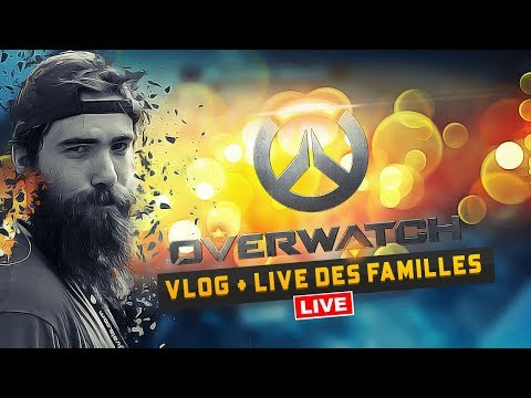 LIVE FR - OWERWATCH - 16h-18h  - REJOINS NOUS ! Objectif 1500 FOLLOW