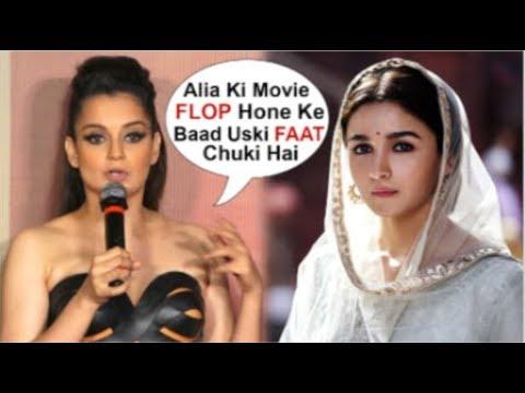 Kangana Ranaut Badly Makes FUN Of Alia Bhatt's FLOP Acting In Kalank Movie At Judgemental Hai Kya