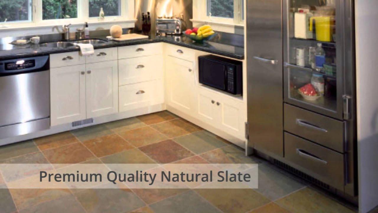 rustic copper riven slate tiles nustone floor wall slate natural stone tiling multicolour