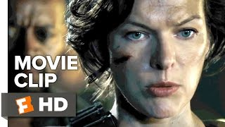 Resident Evil: The Final Chapter Movie CLIP - Kill Every One of Them (2017) - Milla Jovovich Movie
