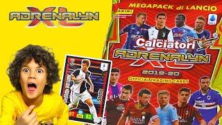 MEGAPACK STARTER ADRENALYN XL CARDS 2019-2020 Serie A Calciatori Panini + Quiz Calcio
