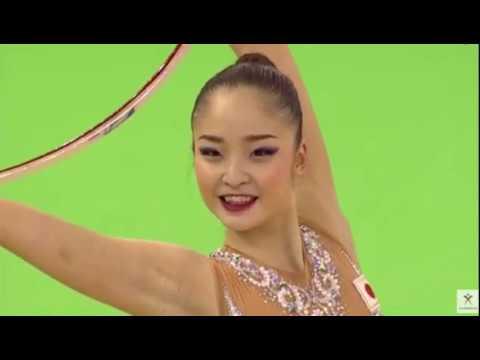 20170604新体操スペイン大会フープ決勝皆川夏穂