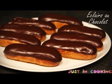 recette-des-eclairs-au-chocolat