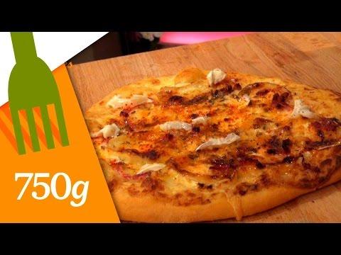 recette-de-pizza-au-fromage-de-chèvre---750g