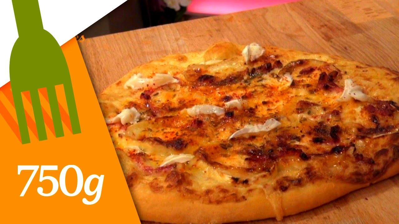 recette de pizza au fromage de chèvre - 750 grammes - youtube