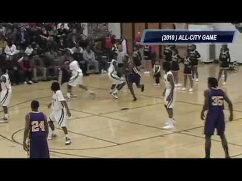 Milwaukee Hamilton vs.Milwaukee Washington basketball game 2010