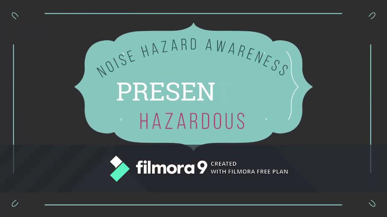 Noise Hazard Awareness - Team Hazardous