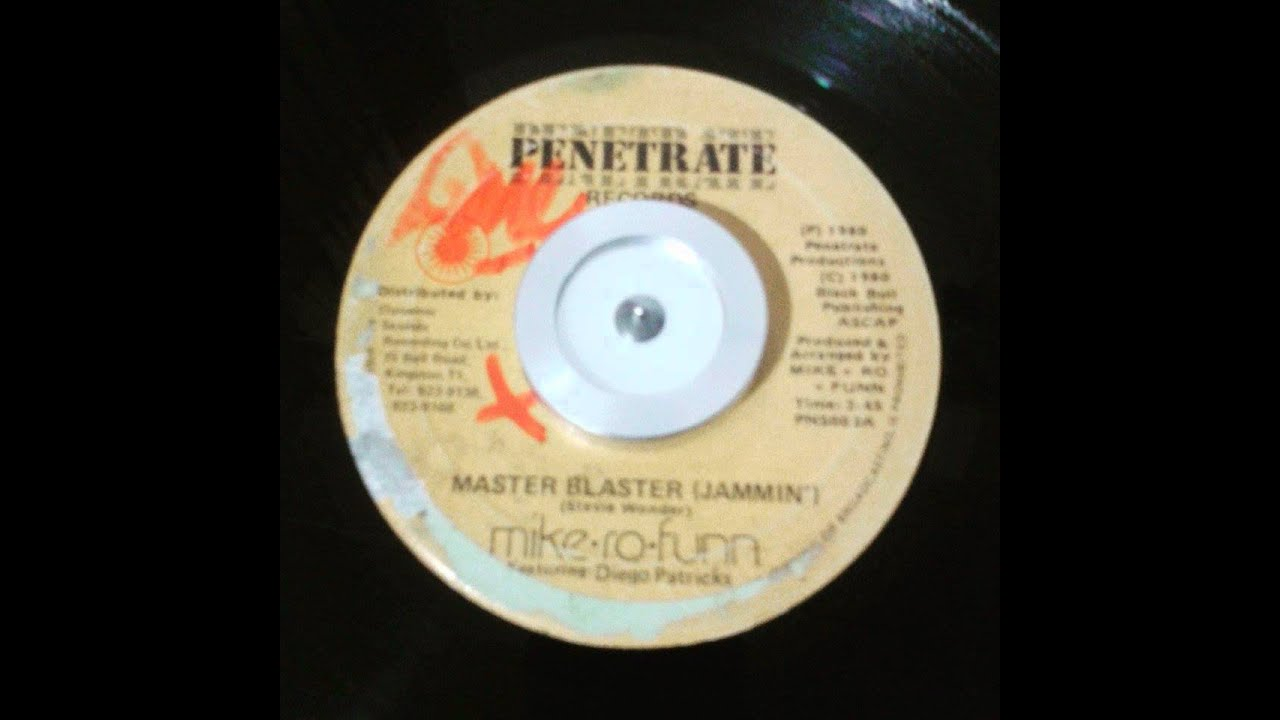 Download Mike-Ro-Funn Feat. Diego Patricks - Master Blaster (Jammin) - 7inch / Penetrate