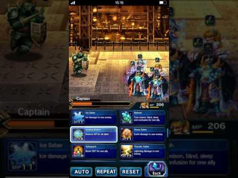 Brave Exvius Global - The Dreadnought ELT - No TM - No Base 5 star - No OP Friend - All Achievements