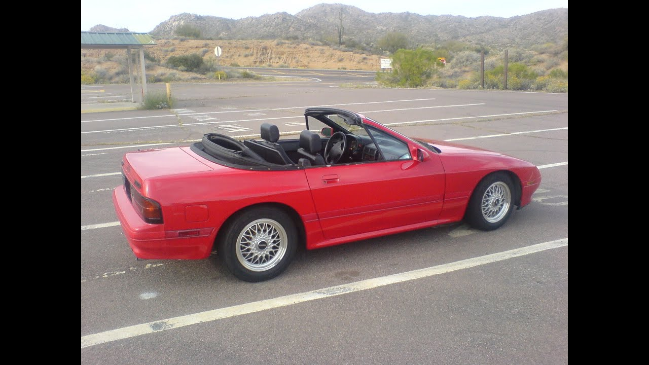 1991 Mazda RX7 (FC3C) Convertible review - YouTube