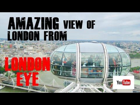 LONDON EYE: 360 DEGREE  VIEWS OF CITY OF LONDON (HD)