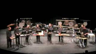 UWGB Alumni Percussion Ensemble - IV for percussion nonet