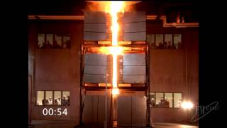 VIDEO (1 of 3): Fire Hazard of Lithium-ion Batteries in Warehouse Storage