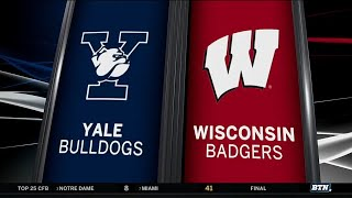 Yale at Wisconsin - Men's Basketball Highlights