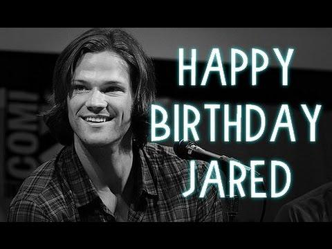 Feliz Aniversrio Jared Padalecki 2014 Happy Birthday Jared
