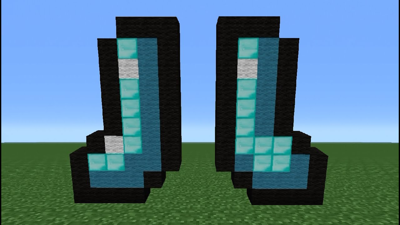 Minecraft Tutorial: How To Make Diamond Boots