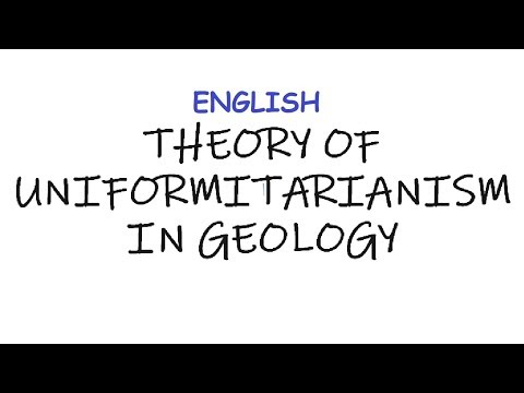 Theory of Uniformitarianism & Catastrophism in Geology (In English)