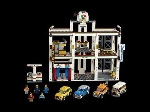 Lego City Garage : Lego city garage review set youtube