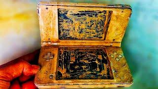 Restoration The Abandoned NINTENDO DS XL Gameboy | Restore And Rebuild the Old NINTENDO Gameboy