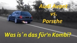 Was is´n das für'n Kombi? Audi RS4 Avant vs.Porsche 911 Carrera