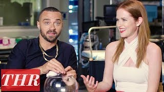 Cast of 'Grey's Anatomy' Celebrates 300th Episode With a Round of 'Fishing for Answers' | THR