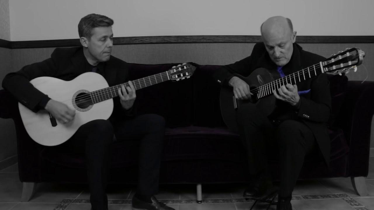 DUMOND & SIERRA guitars duet play Falla Vie breve, Piazzola Libertango, Rodrigo