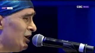 Takfarinas au festival de la chanson Amazigh