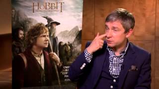 Martin Freeman on The Hobbit - Interview