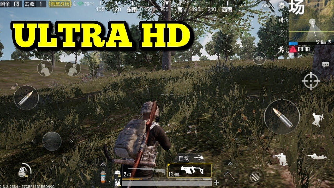 Pubg Hd Pics For Mobile: How To Play PUBG Mobile (Lightspeed) On Ultra HD Tutorial