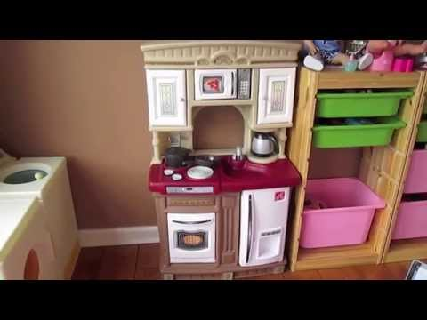 Step 2 Lifestyle Kitchen step 2 lifestyle fresh accents play kitchen review! - youtube