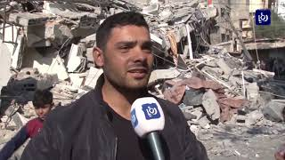 شهداء وعشرات الجرحى حصيلة عدوانا لاحتلال على قطاع غزة - (13-11-2018)