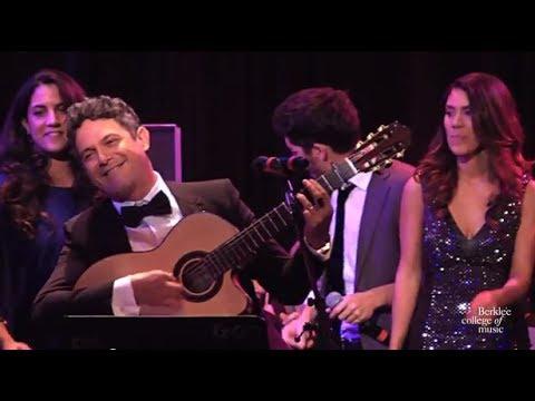 Alejandro Sanz with Berklee Symphony,