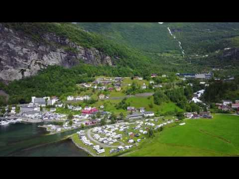 Camping w Geiranger
