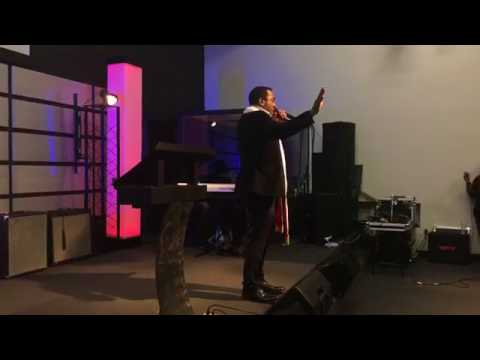 Fire For Fire Revival In Dallas: Bishop Blessing Samuel Ministering